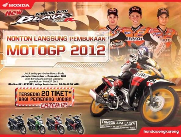 Raih Kesempatan Nonton Langsung MotoGP 2012