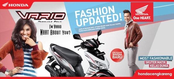 Tampilan Baru Honda Vario CW 2013