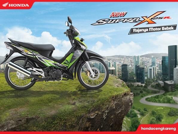 Warna dan striping baru Honda Supra X 125