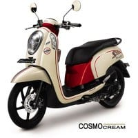 Honda Scoopy FI Sporty Cosmo Cream