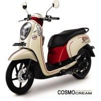 Honda Scoopy FI Sporty Cosmo Cream