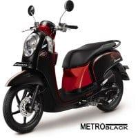 Honda Scoopy FI Sporty Metro Black
