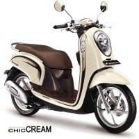 Honda Scoopy FI Stylish Chic Cream