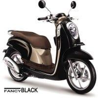 Honda Scoopy FI Stylish Fancy Black