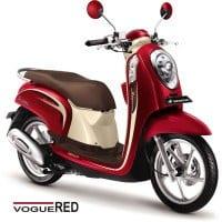 Honda Scoopy FI Stylish Vogue Red