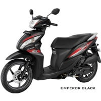 Honda Spacy Helm-in PGM-FI Emperor Black