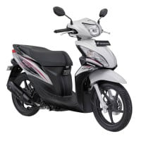 Honda Spacy Helm-in PGM-FI Imperial White
