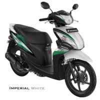 Honda Spacy Helm-in PGM-FI Imperial White