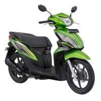 Honda Spacy Helm-in PGM-FI Legacy Green