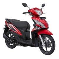 Honda Spacy Helm-in PGM-FI Majestic Red