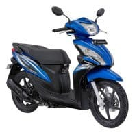 Honda Spacy Helm-in PGM-FI Royal Blue