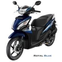 Honda Spacy Helm-in PGM-FI Royal Blue
