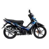 Honda Supra X 125 CW Black Blue