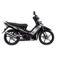 Honda Supra X 125 CW Black Silver