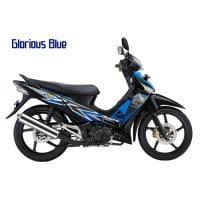 Honda Supra X 125 CW Glorious Blue