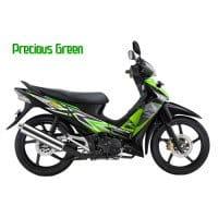 Honda Supra X 125 CW Precious Green