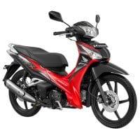 Honda Supra X 125 Helm-in 2012 Merah