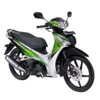 Honda Supra X 125 Helm-in Legacy Green