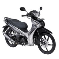 Honda Supra X 125 Helm-in Luxurious Gray