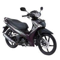Honda Supra X 125 Helm-in-PGM-FI Imperial Violet