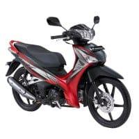 Honda Supra X 125 Helm-in-PGM-FI Superior Red