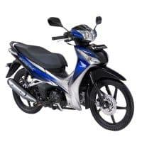Honda Supra X 125 Helm-in Royal Blue