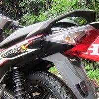 Lampu belakang Honda Supra X 125 FI