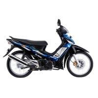 Honda Supra X 125 STD Black Blue
