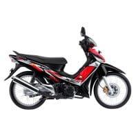 Honda Supra X 125 STD Black Red