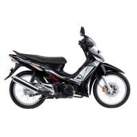 Honda Supra X 125 STD Black Silver