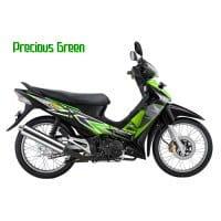 Honda Supra X 125 STD Precious Green
