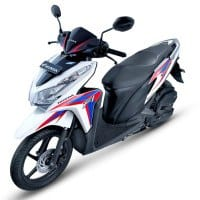 Honda Vario Techno 125 STD White Red