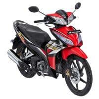 New Honda Blade R Hitam Merah